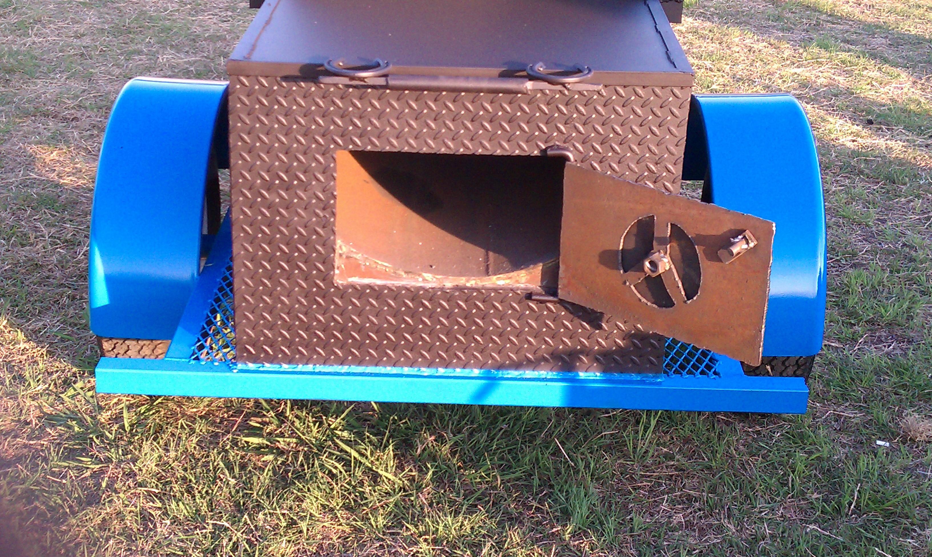 Pictures Murphy S Custom 1 Door Bbq Barbeque Pits